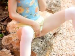 petite slim doll stripping