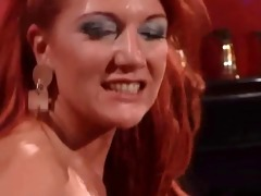 daughter watches red headed step mamma receiving