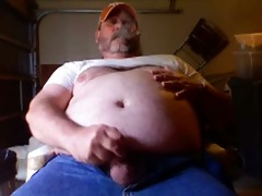 cigar smokin dad making cum