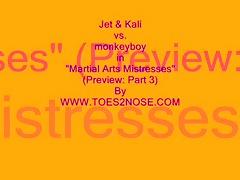martial arts mistresses