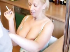 young and old - smoking blowjob