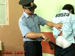 legal age teenager convict drills tough gay