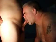 daddy bear engulfing