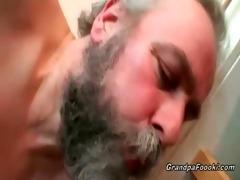 grandpa copulates sexy babe