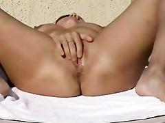 non-professional couple masturbation and fuck on