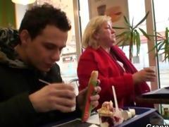 biggest titted granny tastes yummy shlong