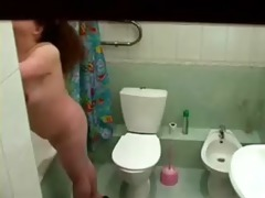 hidden cam catches my fat sister naked in bath
