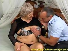bulky busty mama needs hard anal sex