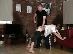 spanked and stroked off, poor british boy jacob