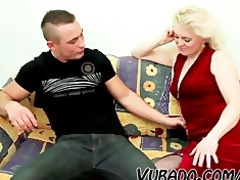old blond d like to fuck copulates youthful dude