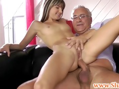 juvenile british lady taken anally by old fellow