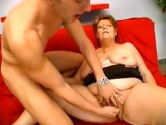 youthful fit gut fucks a sexy bbw granny
