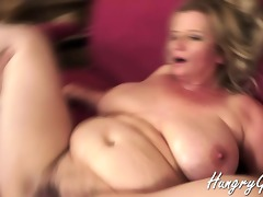 licking and fucking a hot granny cum-hole