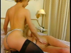 enchanting ladies licking each other