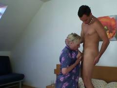 wicked granny takes fresh schlong