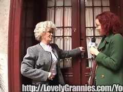 golden granny angel gets rammed