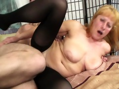 blonde swollows mr. woodcocks cum [clip]