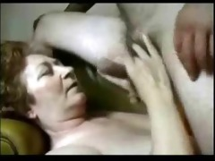 granny having fun with horny student.