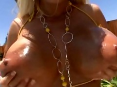 holly halston - breast obsessed