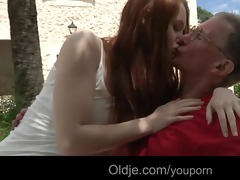 large dicked old stud fucks his concupiscent