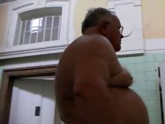 marvelous grandpa enjoys wellness