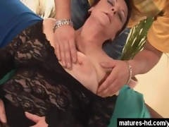 large tits mature slut likes it hardcore