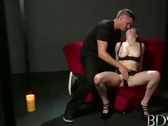 bdsm xxx beautiful sex hungry sub has her tight