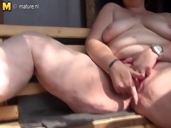 naughty mom loves to engulf cock