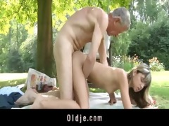 oldman fucks wicked slender blonde legal age