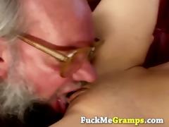 grandpa receives really lucky