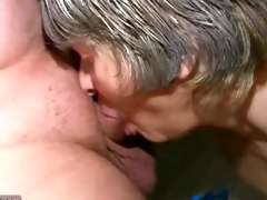 oldnanny - young lad fucking with old aged