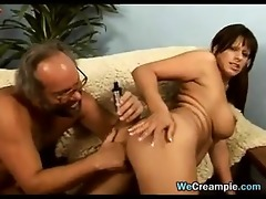 thick mother screwed by an old guy