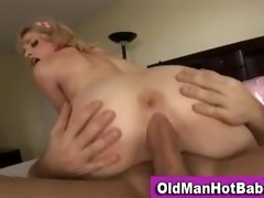 old guy fucks sexy younger hottie