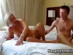 hot older blond mother i sexy suz fucks her sons