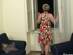 lonely granny acquires drilled by a totally