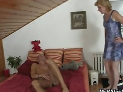 he receives cheerful by mother-in-law