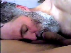 bearded daddy engulf and swallow