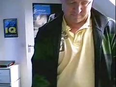 handsome british dad on cam