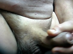 68 yrold grandpa #131 aged cum close closeup wank