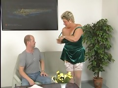 chunky mature housewife squirms