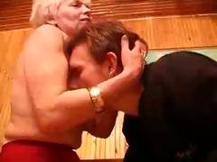 shaggy granny fucks her boy