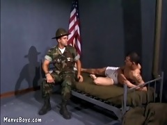 lascivious sergeant gets the superlatively good