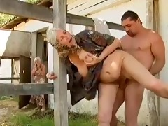 2 farm grannies seduced by juvenile fellow