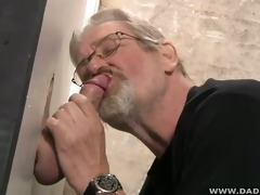 dad engulfing magnificence hole pecker