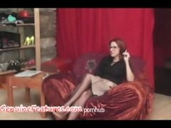 redhead milf in backstage episode from casting