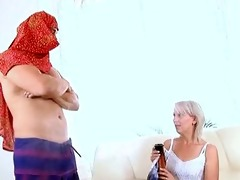 hardcore housewife fucked by genie