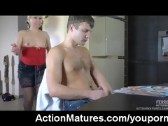 hot sex with sexy older mother i