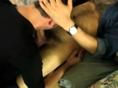 very hot hirsute dad shoot cum in face hole