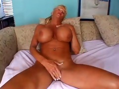 older woman with big fake tits gets fucked