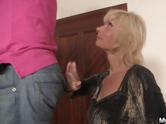 he is is tempted by sexually excited mother-in-law